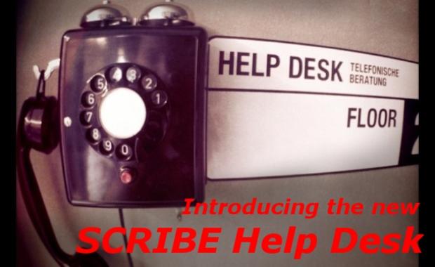 SCRIBE Help Desk