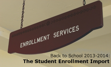 Student Enrollment Import